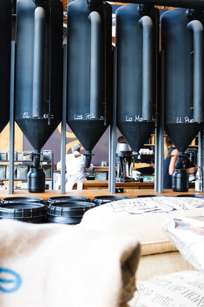 elbgold: the whole range of the coffees country origins.