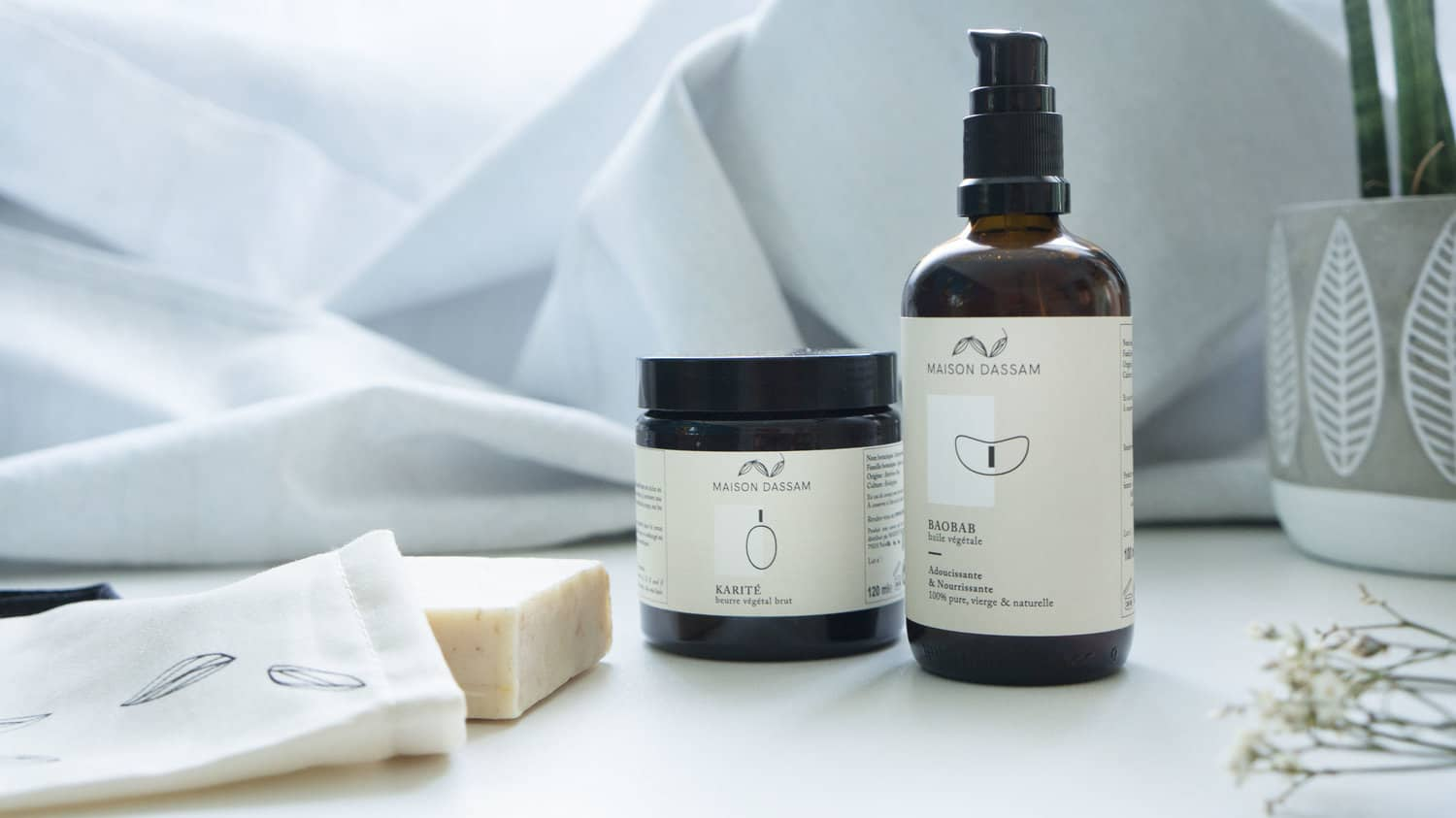 "Maison Dassam ethic, 100& natural and bio ""Essential Kit"""