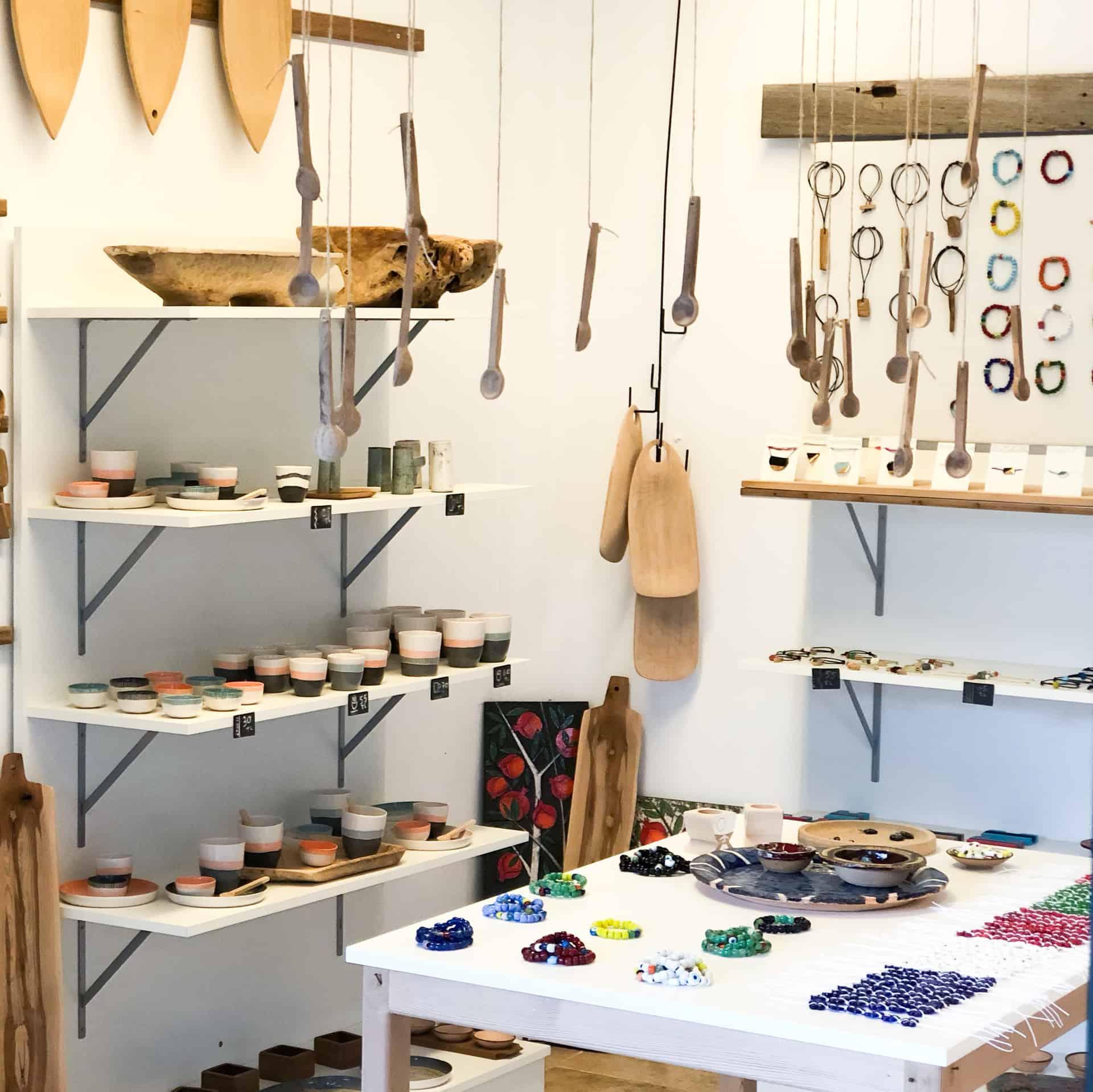Kılçık concept handmade wooden kitchenwares made in a Turkish workshop