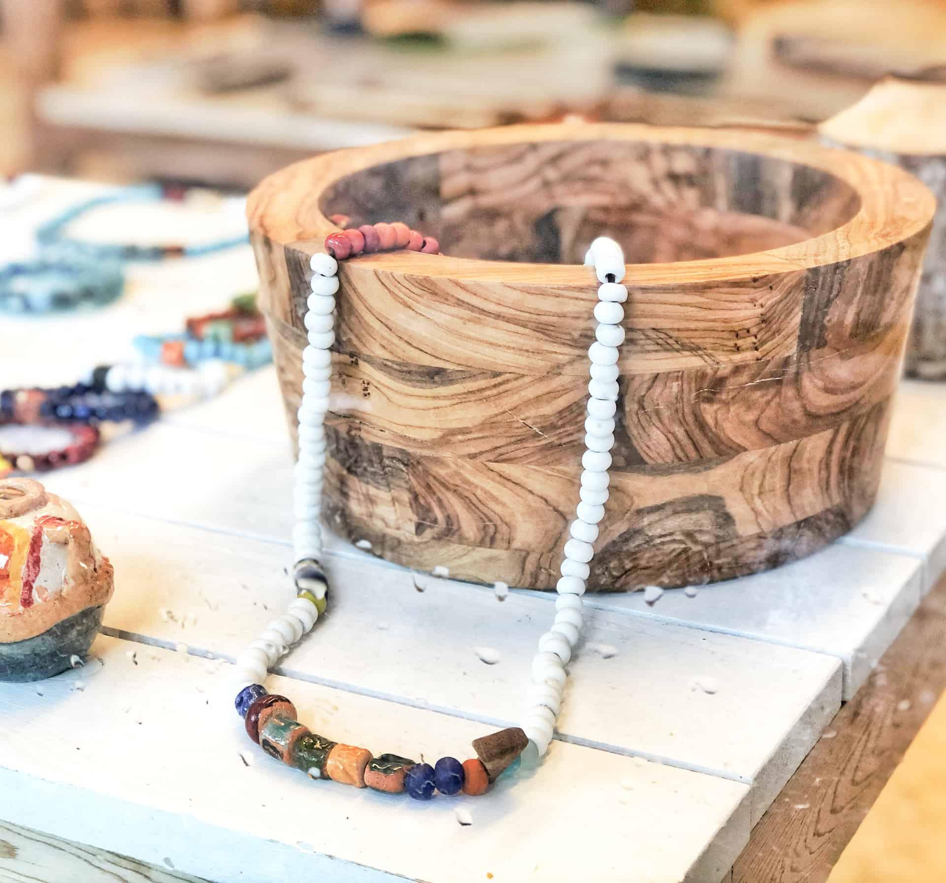 Kılçık concept Turkish workshop, handmade jewelleries and wooden pieces