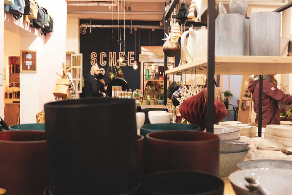 SCHEE concept store in Berlin: find beautiful prints and everything that makes your home beautiful
