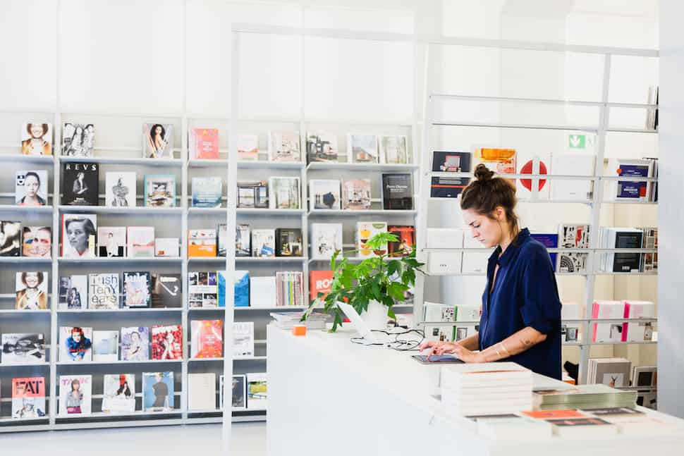 Soda Books concept store in Berlin, picture made by the magazine www.ignant.com